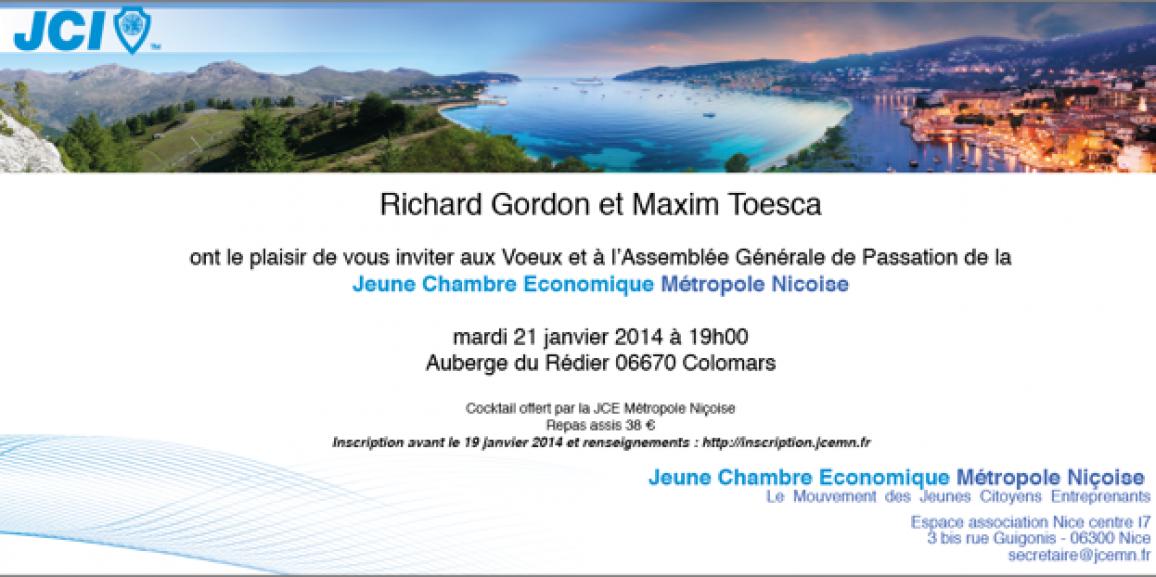 Assemblée Générale de Passation 21 janvier 2014