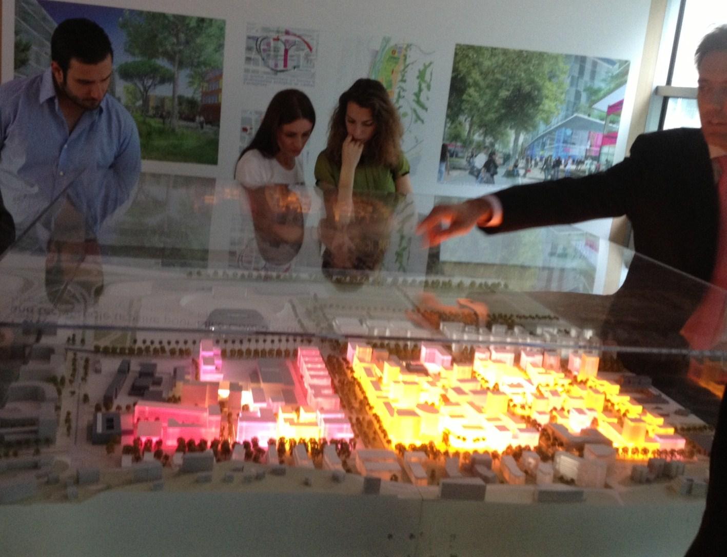 Le futur quartier de l'Eco-Vallée