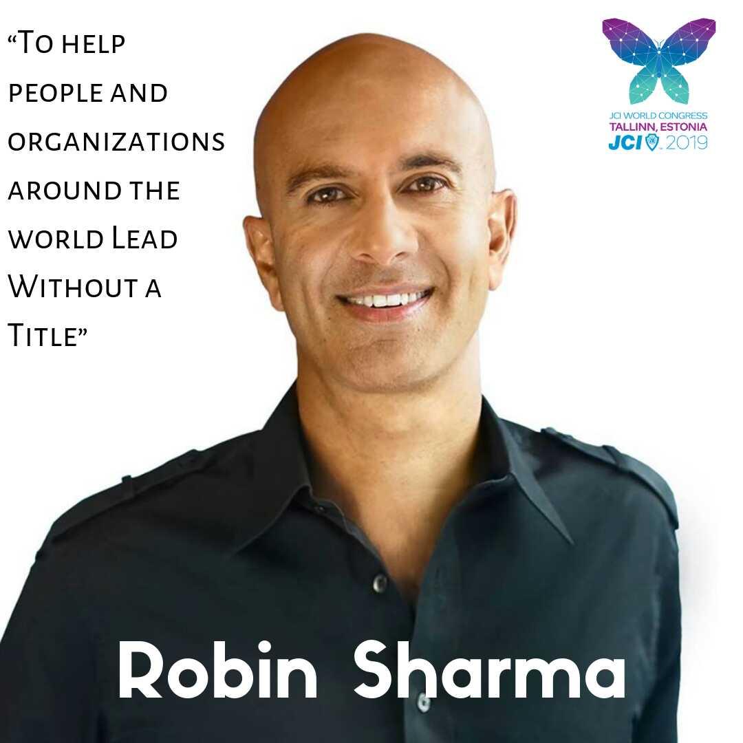 Robin Sharma keynote