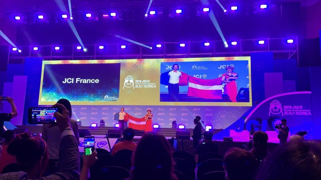 John et Sanda, chief delegates pour la France et la Lettonie