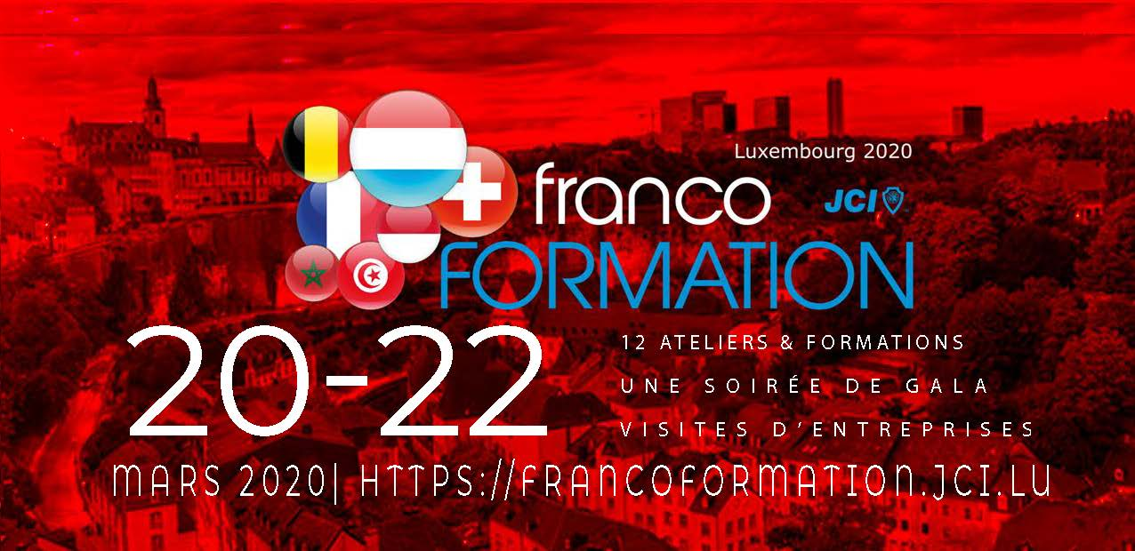 Francoformation du 20 au 22 mars 2020