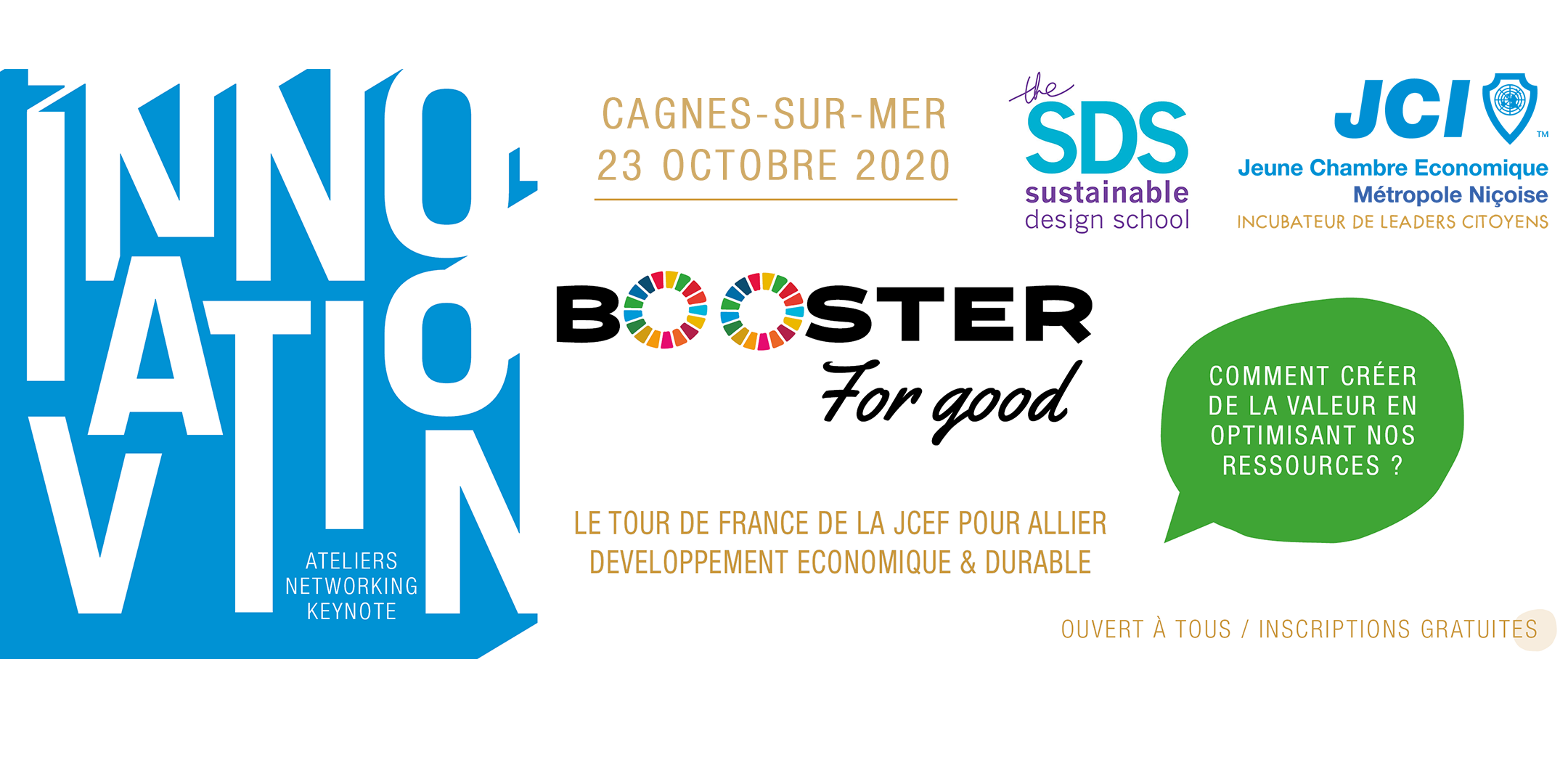 Booster for Good bannière